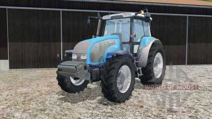 Valtra T140 process cyan for Farming Simulator 2015