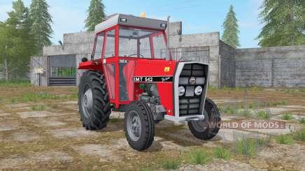 IMT 542 DeLuxe light brilliant red for Farming Simulator 2017