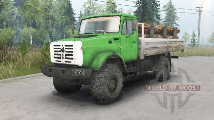 ZIL-4334 4x4 for Spin Tires
