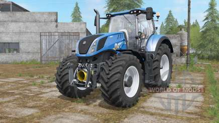 New Holland T7-series with FL console for Farming Simulator 2017