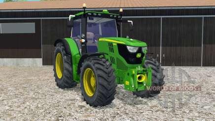John Deere 6150R FL console for Farming Simulator 2015