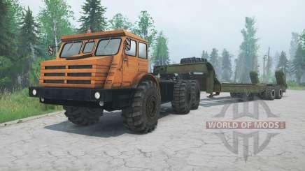 MoAZ-74111 for MudRunner