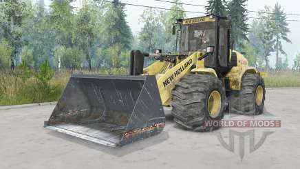 New Holland W170C v1.3 for Spin Tires