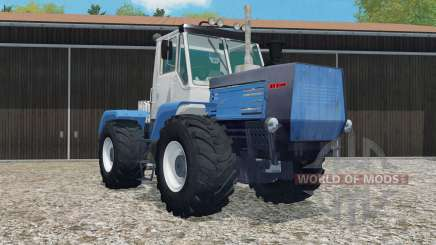 T-150K changed the suspension settings for Farming Simulator 2015