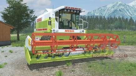 Claas Mega 218 & C600 for Farming Simulator 2013