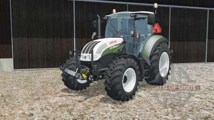 Steyr 4115 Multi multicolor for Farming Simulator 2015