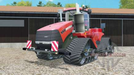 Case IH Steiger 1000 Quadtrac The Red Baron for Farming Simulator 2015