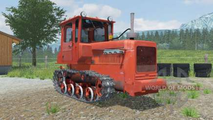 DT-75M with bulldozer equipment for Farming Simulator 2013