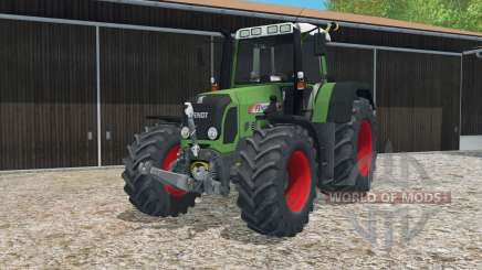 Fendt 820 Vario TMS dynamic exhausting system for Farming Simulator 2015