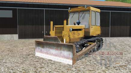 DT-75ML with dozer blade for Farming Simulator 2015