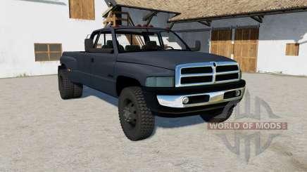 Dodge Ram 3500 color selectable for Farming Simulator 2017