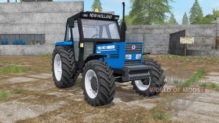 New Holland 110-90 science blue for Farming Simulator 2017