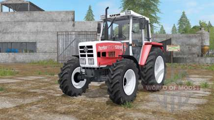 Steyr 8090A Turbo with configuration for Farming Simulator 2017