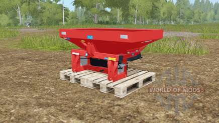 Rauch MDS 19.1 rotating plates for Farming Simulator 2017