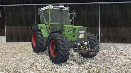 Fendt Favorit 615 LSA Turbomatik E real lights for Farming Simulator 2015