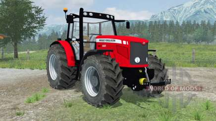 Massey Ferguson 6480 new wheels for Farming Simulator 2013