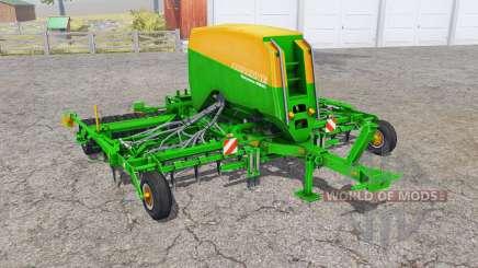 Amazone Cayena 6001 equipped with fertilizer for Farming Simulator 2013