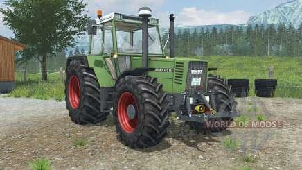 Fendt Favorit 615 LSA Turbomatik E for Farming Simulator 2013