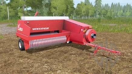 Welger AP 730 for Farming Simulator 2017