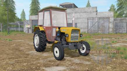 Ursus C-330 goldenrod for Farming Simulator 2017
