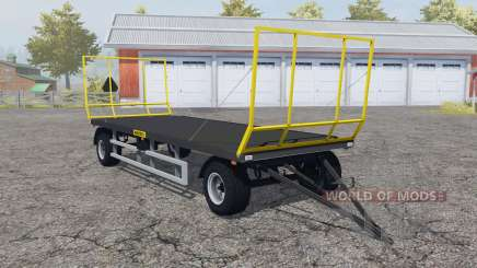 Wielton PRS-2S-S9 folding front and rear wall for Farming Simulator 2013