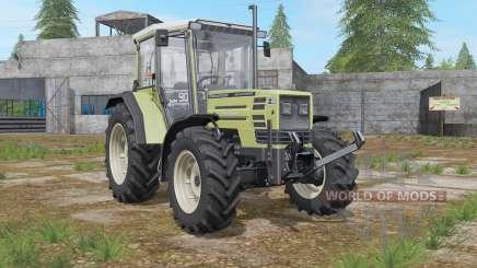 Hurlimann H-488 Turbo more exhaust smoke for Farming Simulator 2017