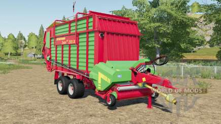 Strautmann Zelon CFS 2501 DO with more volume for Farming Simulator 2017