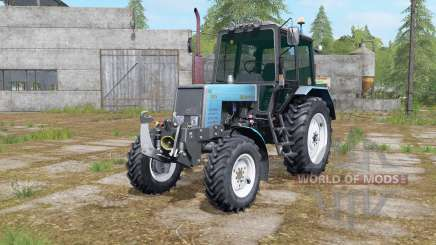 MTZ-1025 with front three-point hitch for Farming Simulator 2017