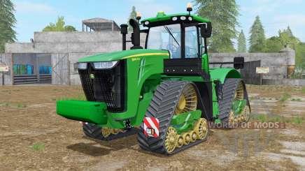 John Deere 9560RX north texas greeɳ for Farming Simulator 2017