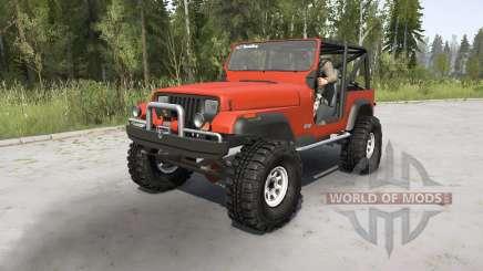 Jeep Wrangler (YJ) 1989 for MudRunner