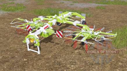 Claas Liner 2700 fixed bug with wheels for Farming Simulator 2017