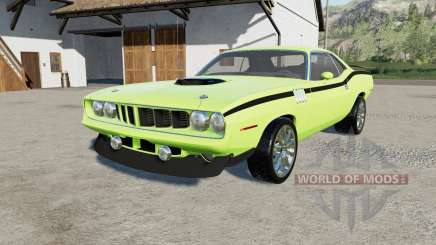 Plymouth Hemi Cuda 426 1971 for Farming Simulator 2017