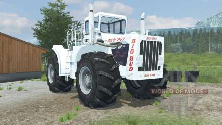 Big Bud 16V-747 change wheels for Farming Simulator 2013