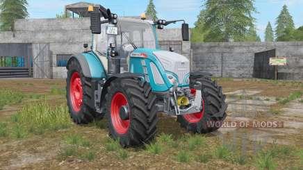 Fendt 700 Vario bondi blue for Farming Simulator 2017