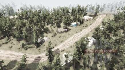 Village Mitrofanovo for MudRunner