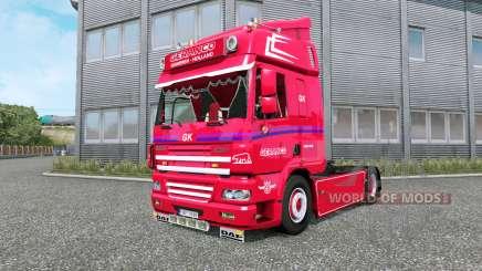 DAF CF Geranco v1.1 for Euro Truck Simulator 2