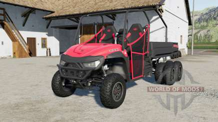 Mahindra Retriever long 6x6 for Farming Simulator 2017