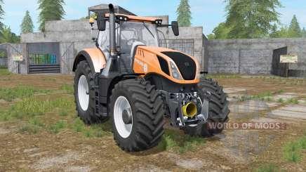 New Holland T7-series deep saffron for Farming Simulator 2017