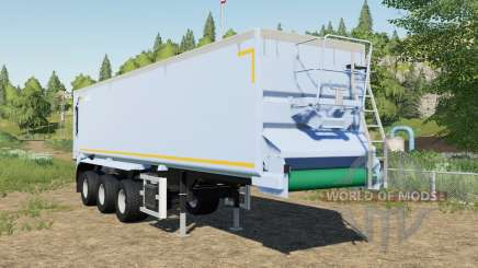Krampe SB II 30-1070 adjusted tipper back door for Farming Simulator 2017