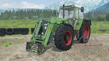 Fendt Favorit 611 LSA Turbomatik E front loader for Farming Simulator 2013
