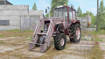 MTZ-82 Belarus with loader for Farming Simulator 2017