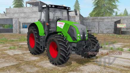 Claas Axion 820 islamic green for Farming Simulator 2017
