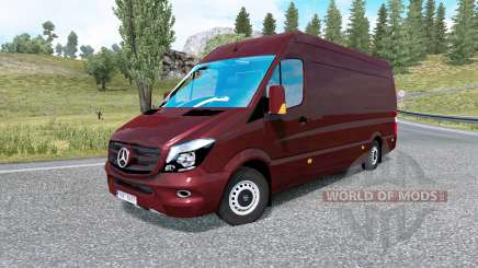 Mercedes-Benz Sprinter 315 CDI LWB 2015 v1.8.2 for Euro Truck Simulator 2