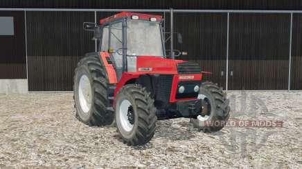 Ursus 934 deep carmine pink for Farming Simulator 2015