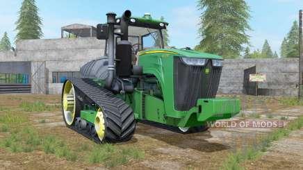 John Deere 9RT shamrock green for Farming Simulator 2017