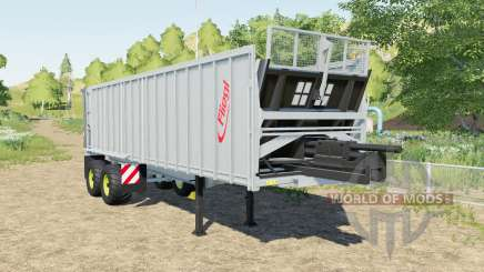 Fliegl ASS 298 Gigant added selectable capacity for Farming Simulator 2017