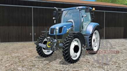 New Holland T6.160 changing wheels for Farming Simulator 2015
