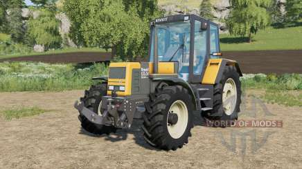Renault 54-series TX improved physics for Farming Simulator 2017