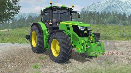 John Deere 6150R dynamic exhaust for Farming Simulator 2013