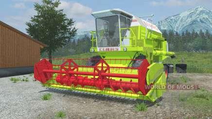 Claas Dominator 106 vivid lime green for Farming Simulator 2013